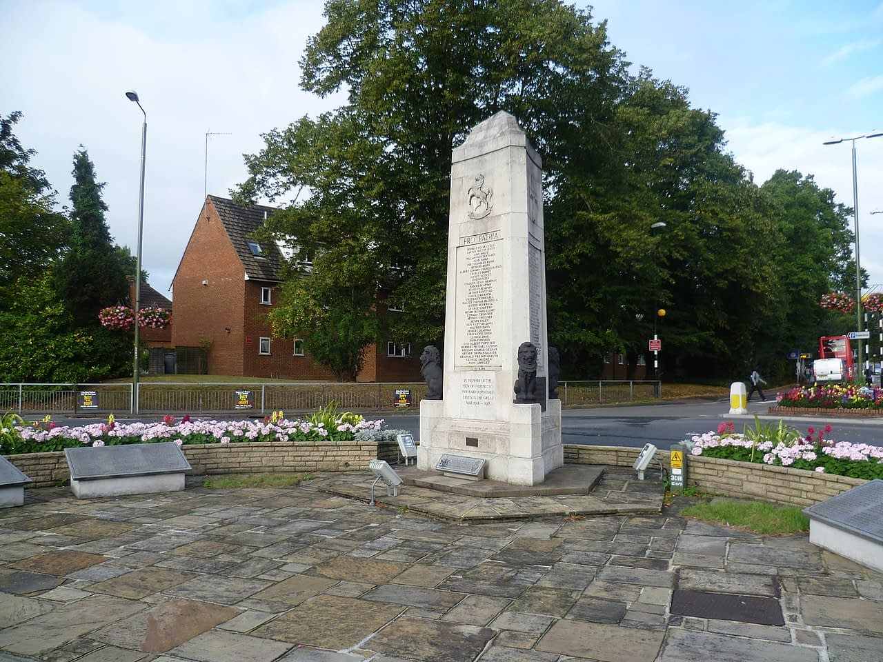Orpington war memorial