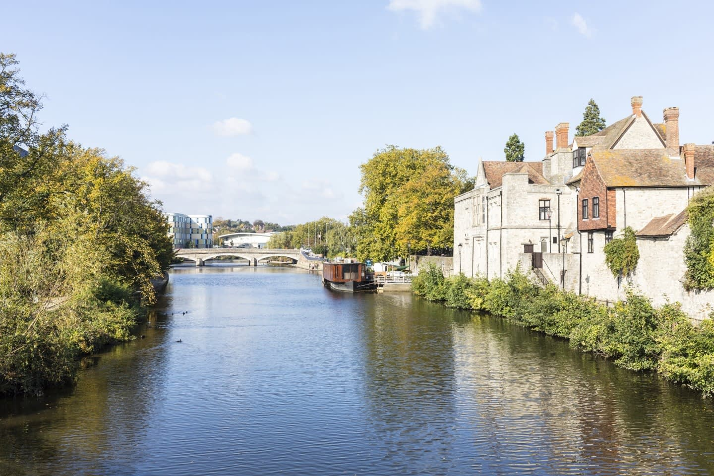 The River Medmay at Maidstone