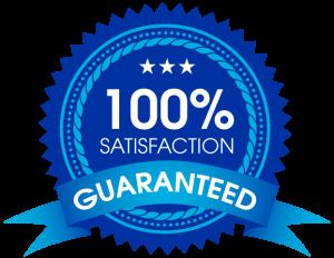 Guaranteed satisfaction emblem
