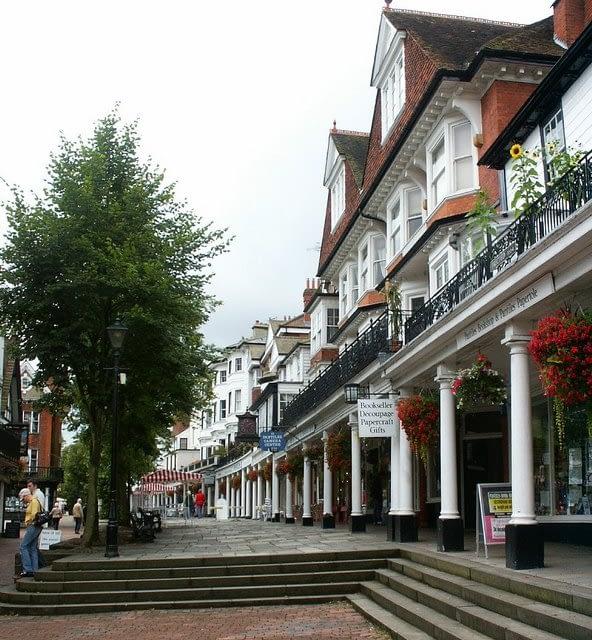 Tunbridge Wells town centre